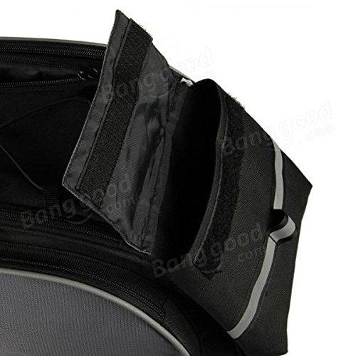 Multi Bike Bicycle Rear Seat Tail Bag Pannier Handbag Double Sides ( Blue ) by Freelance Shop SportingGoods (Image #3)