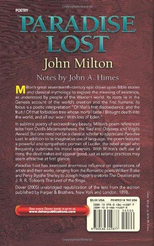 shellys interpretation of miltons paradise lost essay