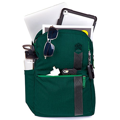 STM Banks Backpack For Laptop & Tablet Up To 15'' - Botanical Green (stm-111-148P-08) by STM (Image #4)