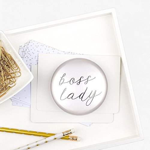 Table Decoration Concepts Cathys (Cathy's Concepts Boss Lady Domed Glass Paperweight)