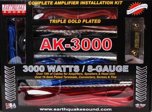 Earthquake Sound AK-3000 Complete Amplifier Installation (Cellular Amplifier Cradle Kit)