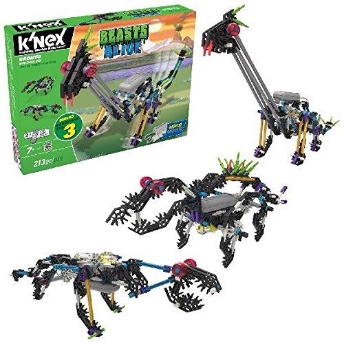 K'Nex 34483 - Set per la costruzione di miglioreie animate, incl. motore