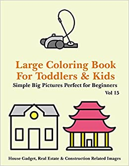 Buy Large Coloring Book For Toddlers And Kids