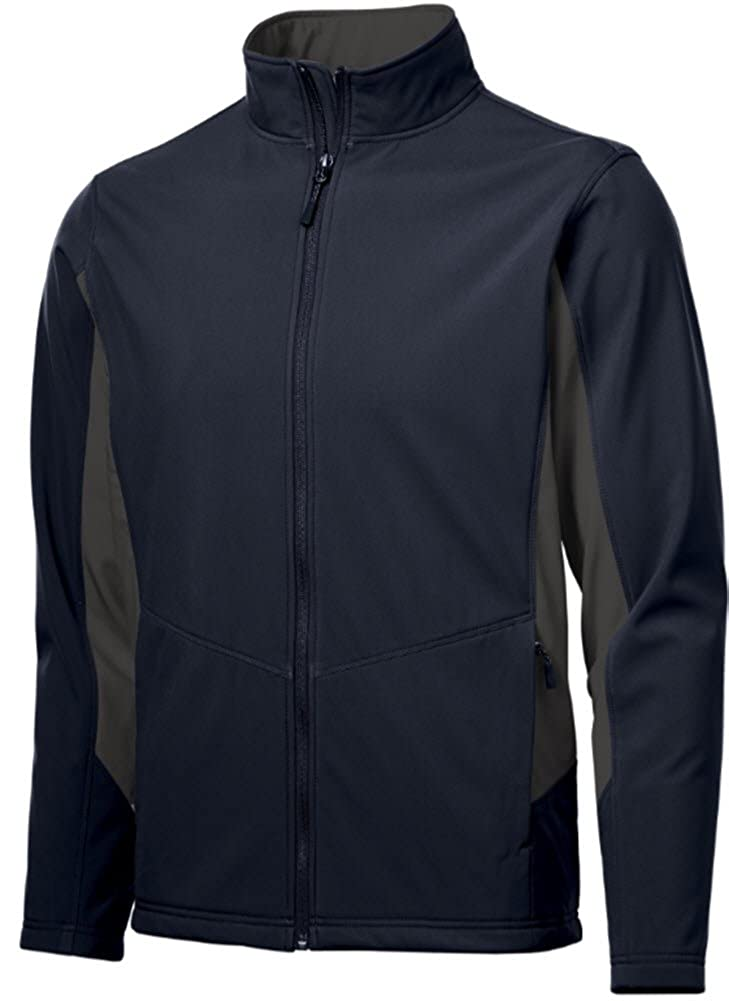 Joes USA Mens Tall Colorblock Soft Shell Jackets in Sizes LT-4XLT