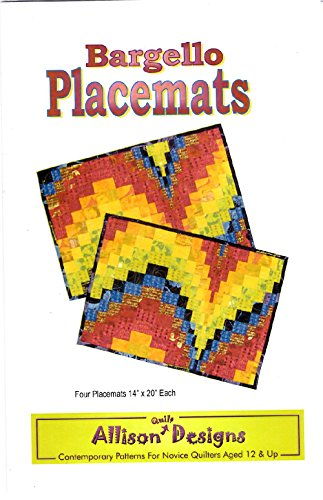 Bargello Placemats Pattern By Allison Quilt Designs AD 01