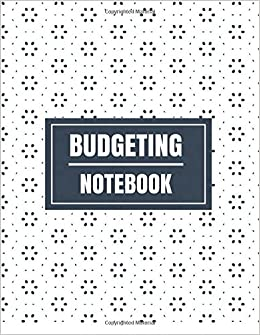 budgeting notebook floral design with calendar 2018 2019 weekly