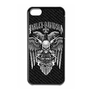 iPhone 5C Phone Case Black Harley Davidson ZKH9363049