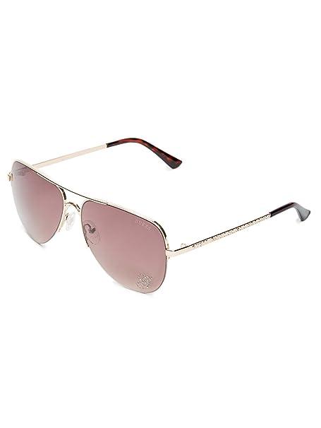 Amazon.com: GUESS Factory - Gafas de sol para mujer (metal ...
