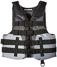 O'Neill Women's SuperLite USCG Life Vest, Black/Smoke/Black/UV,X-Large