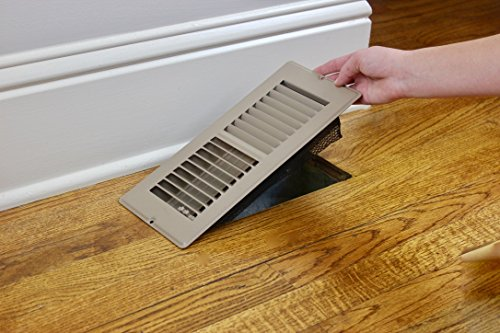 Floor Register Trap - Screen for Home Air Vents 4''x10'' by Floor Register Trap (Image #4)