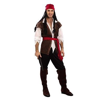 Jitong Halloween Disfraces de Piratas para Pareja, Disfraz ...