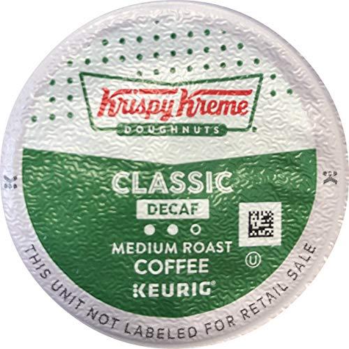 (Krispy Kreme House Decaf Medium Roast Coffee K-Cups 24 COUNT (2PACKS) total 48 K-Cups)