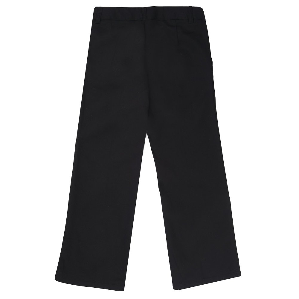 French Toast Girls Adjustable Waist Flat Front Bootcut Pant