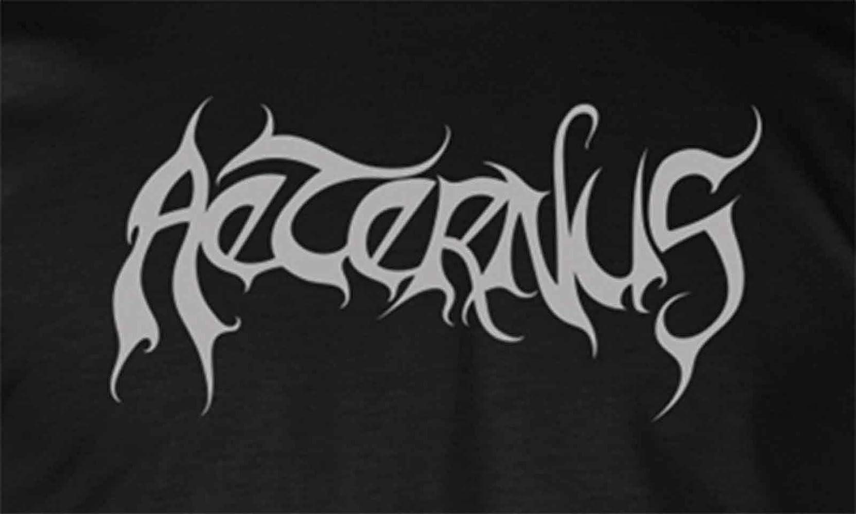 Aeternus T Shirt Heathen Band Logo Nouveau Officiel Homme