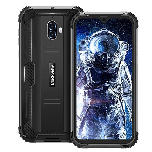 Rugged Cell Phones Unlocked, Blackview BV5900, 4G GSM Network Rugged Smartphone, 5580mAh 5.7″ Dual sim Phones, 3GB+32GB Android 9.0 Waterproof Unlocked Smartphone, NFC Fingerprint Unlocked Phone