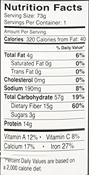 Dr. Mcdougall's Right Foods Lower Sodium Bean Quinoa Salad, Black, 2.6 Ounce (Pack Of 6) 2