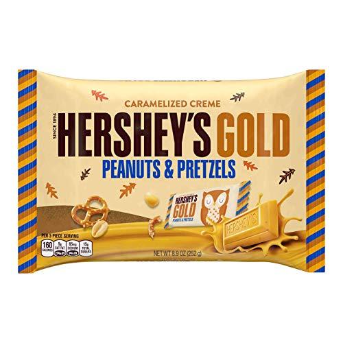 Hershey's Gold Peanuts and Pretzels