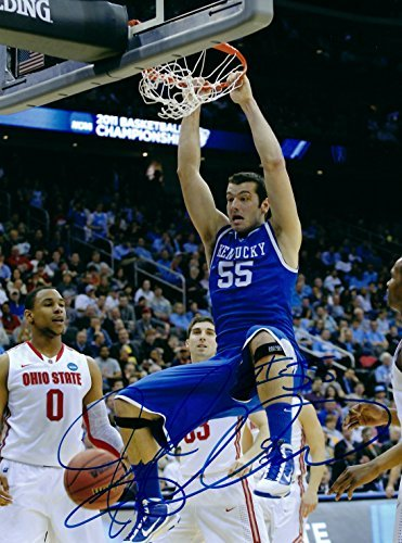 Autographed Josh Harrellson Kentucky Wildcats 8x10 Photo w/COA -