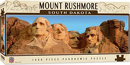 MasterPieces American Vistas Panoramic Mount Rushmore Puzzle (1000 Piece) by MasterPieces