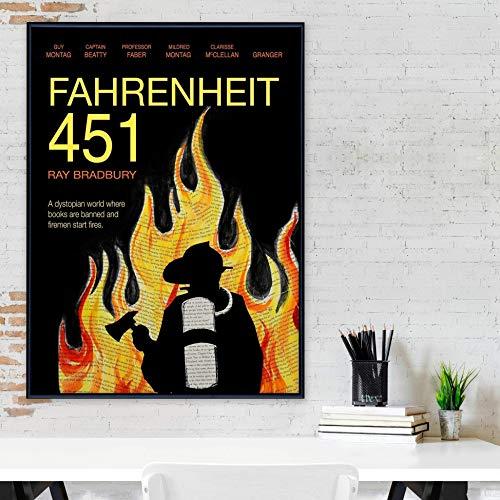 Amazon Com Fahrenheit 451 By Ray Bradbury Classic Novel