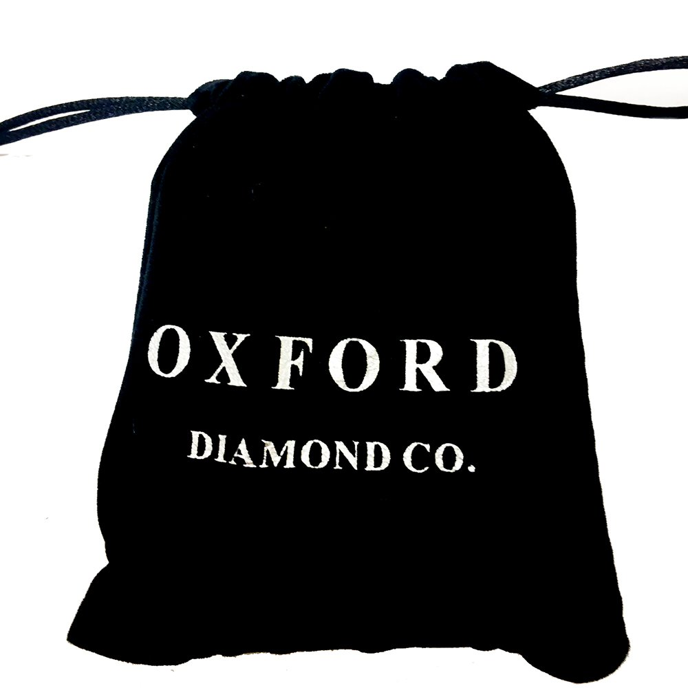 Oxford Diamond Co Sterling Silver 16.50 Carat Round Fine Simulated Gemstone 7.25 Long Colors Available