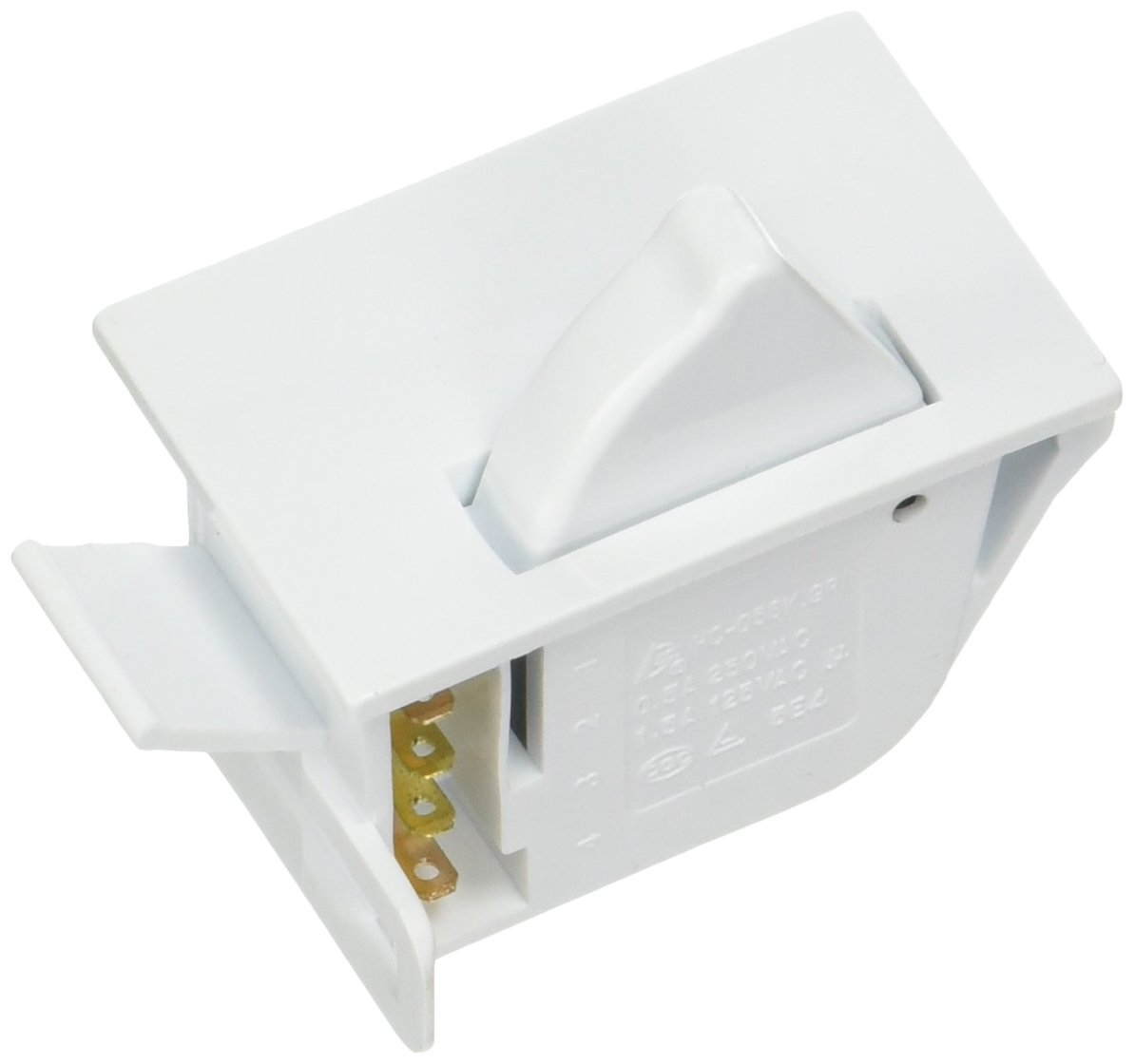 OEM Mania Authorized Factory OEM Replacement DA34-00041A Light Door Switch Compatible with Samsung Refrigerator