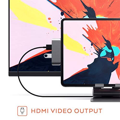 Satechi Type-C Pro USB-C 4K HDMI, USB & 3.5mm Compatible Pro, Microsoft and