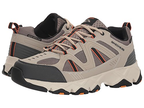 [SKECHERS(スケッチャーズ)] メンズスニーカー?ランニングシューズ?靴 Crossbar Taupe/Black 8.5 (26.5cm) EE - Wide