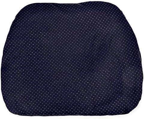 多機能ゲルクッション ハニカム通気性分散圧正しい座位スムーズな血液循環オフィス/車/家庭用夏のシリコーン製卵クッション(2pcs),黒