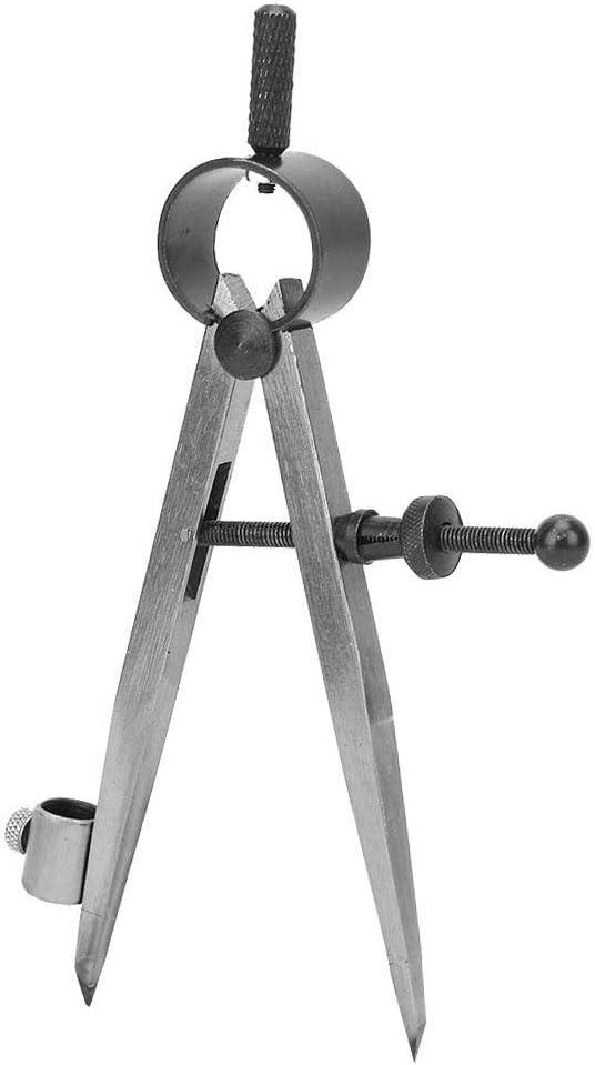comp/ás de estribo con muelle de precisi/ón ajustable y bloqueable con herramienta giratoria para portabol/ígrafos Divisor de alas