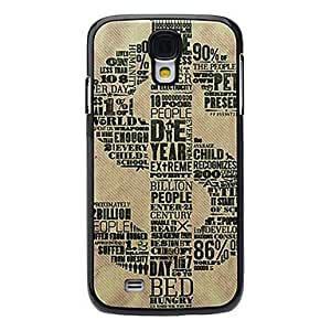 GONGXI USD Symbol Pattern Aluminum Hard Case for Samsung Galaxy S4 I9500