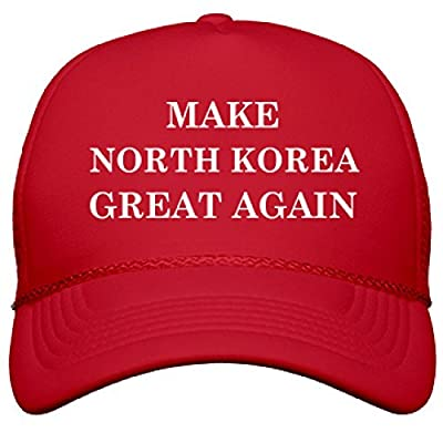 Make North Korea Great Again: OTTO Poly-Foam Snapback Trucker Hat