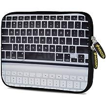 Amzer 7.75-Inch Designer Neoprene Sleeve for Tablet, eBook, Netbook - Keyboard Reflection (AMZ5027077)