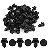 99 acura integra hood - uxcell 50pcs 10mm Bumper Fender Hood Moulding Side Garnish Grille Retainer Clips Furniture Assembly Expansion Screws Kit