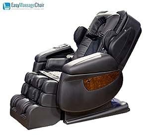 iRobotics 7th Generation 3D Zero Gravity Heating Massage Chair Black by Luraco