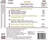 Weber: Piano Music, Vol. 4