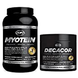 Muscle Building Top Sellers Kit - Decacor Creatine and Myotein Protein (Chocolate, 2.2lb) - Best Creatine Powder and Premium Protein Powder by XPI Supplements
