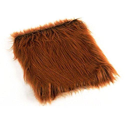 New Pet Costume Lion Mane Wig for Dog Halloween Cloth Festival Fancy Dress Up, Color: Dark Brown/Light Brown/Black / White -