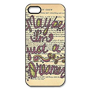 Cool Design Band The Beatles Printed Hard Plastic Case Shell Cover for iPhone 5s/iPhone 5 _Black 30307 by supermalls