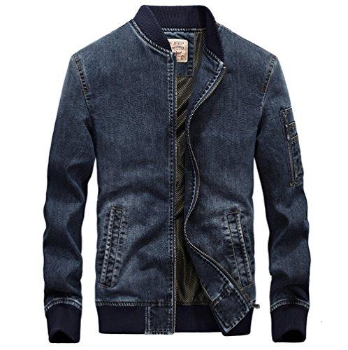 Zip Front Jean Jacket - 8