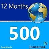 Inmarsat IsatHub Prepaid Sim Card - 500 MB