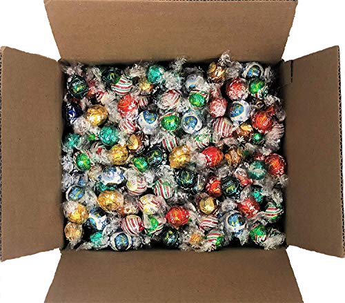 Lindt Lindor Chocolate Truffles 6-8 Flavor Assorted Truffle Box 120 - Balls Chocolate