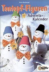Tontopf-Figuren, Advents-Kalender