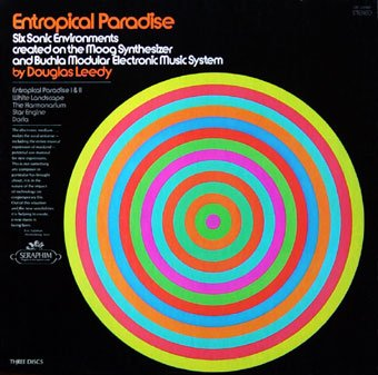 Entropical Paradise-six Sonic Enviornments Created on the Moog Synthesizer &Amp; Buchla Modular System By Douglas Leedy-3 Lp BOX - Moog Amps