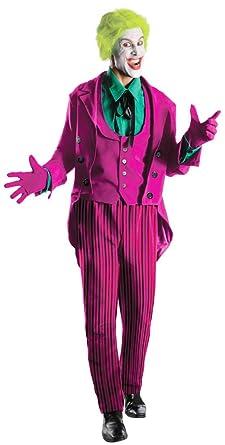 Rubieu0027s Grand Heritage Joker Classic TV Batman Circa 1966 Multi-Colored X-  sc 1 st  Amazon.com & Amazon.com: Rubieu0027s Costume Grand Heritage Joker Classic TV Batman ...