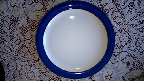 Denby - Pattern: Metz, Blue with white - Salad/Dessert Plate