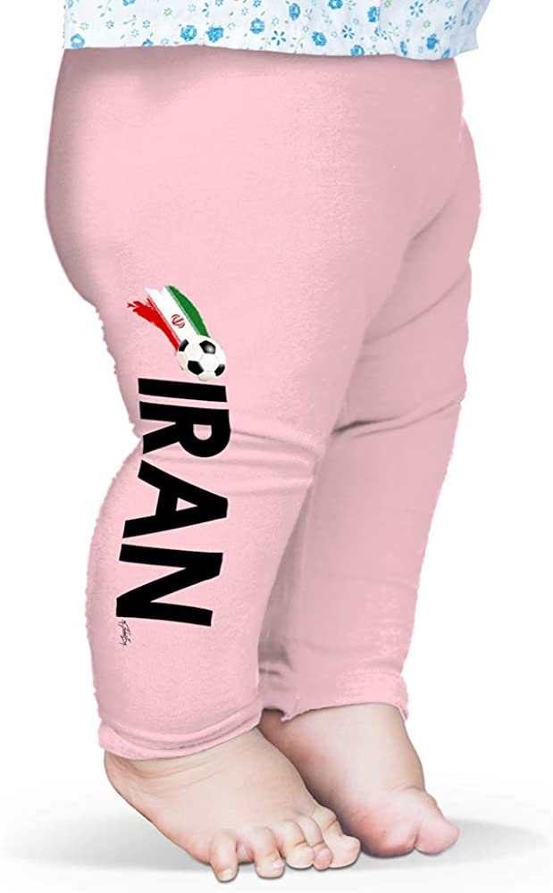 TWISTED ENVY Baby Pants Iran Football Soccer Flag Paint Splat