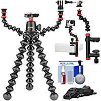 Joby GorillaPod 3K Flexible Mini Tripod Ball Head Kit + Multi-Arms Rig + Clamp & Arm + Kit