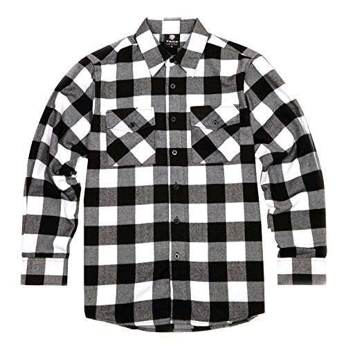 Black And White Flannel - 4