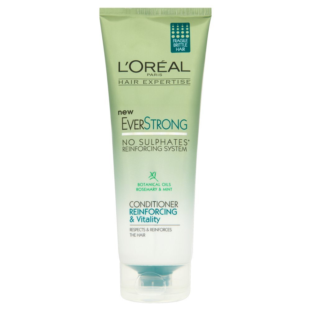 L'Oreal Paris EverStrong Thickening Shampoo, 8.5 Fluid Ounce ...